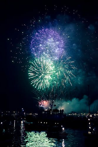 Sail 2015 Fireworks van