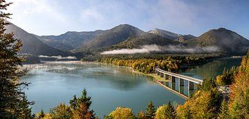 Herbst in den bayerischen Alpen von Achim Thomae