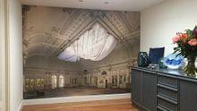 Klantfoto: De vergeten danszaal van Truus Nijland, als behang