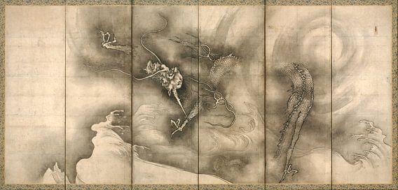 Sesson Shūkei. Dragon and Tiger