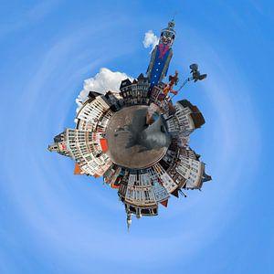 Grote Markt Bergen op Zoom van Maarten J Eykman