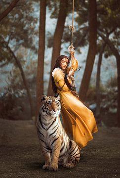 La fille du Maharajah sur Sharon Harthoorn