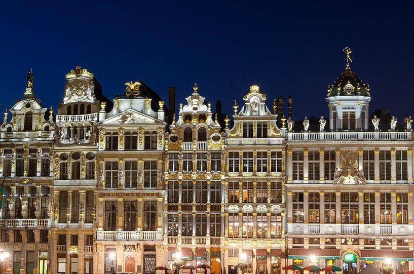 Grote Markt Brussel van Mark Bolijn