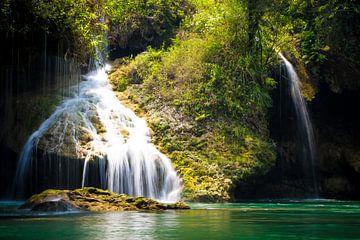 Semuc Champey Guatemala Waterval van Michiel Dros