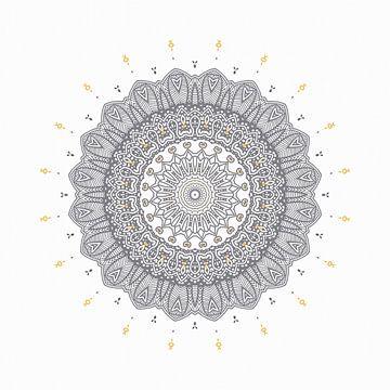 Mandala élégant sur Marion Tenbergen