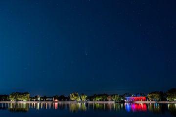 Neowise komeet boven Wolfsburg van Marc-Sven Kirsch