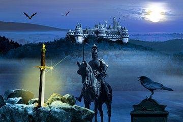 Camelot en het zwaard Excalibur van