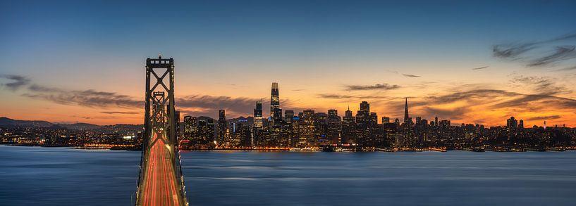 San Francisco Panorama van Photo Wall Decoration