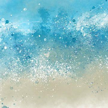 blauwe beweging van Andreas Wemmje