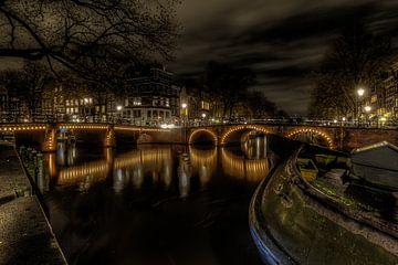 Les canaux d'Amsterdam sur Eus Driessen