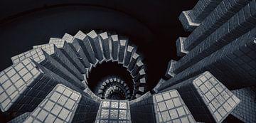 spiraal trap van dafne Op 't Eijnde