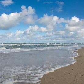 Strand Texel van Margreet Frowijn
