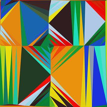 Abstracte samenstelling 650 van Angel Estevez