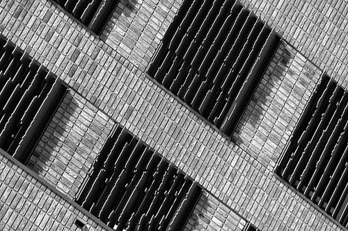 Architectuur van de Boston Seattle gebouwen in Rotterdam