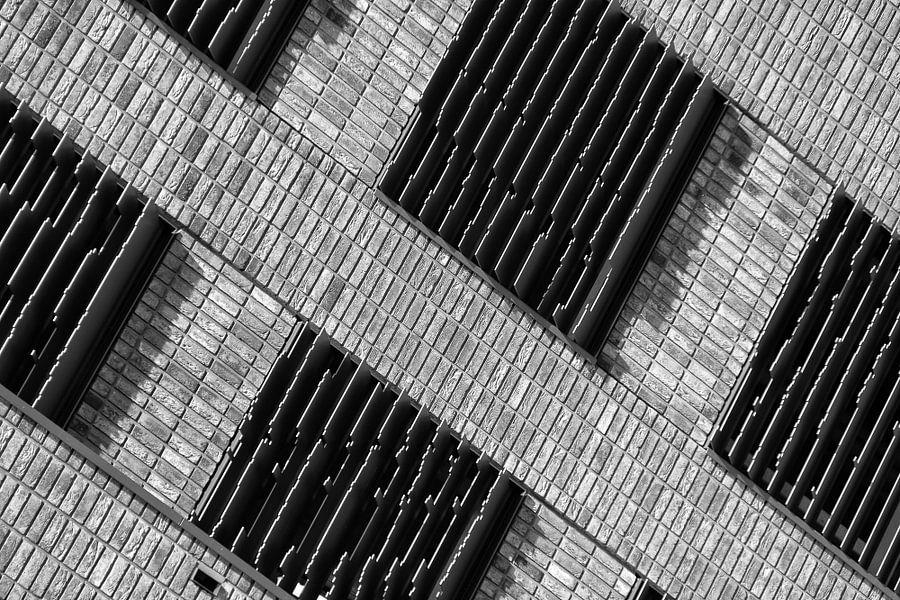 Architectuur van de Boston Seattle gebouwen in Rotterdam van Mark De Rooij