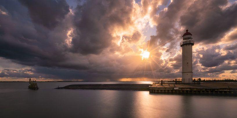 Vuurtoren van Hellevoetsluis Panorama van Vincent Fennis