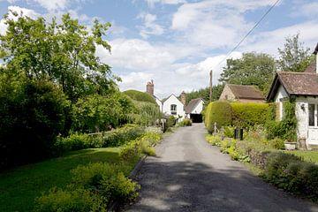 Een straatje in Hampton Engeland van Rijk van de Kaa