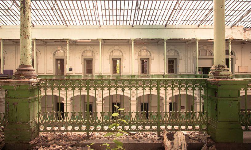 Lycée classique  Urbex Olivier Van Cauwelaert van Olivier Photography