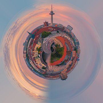 Een Photoshop creatie van Berlijn