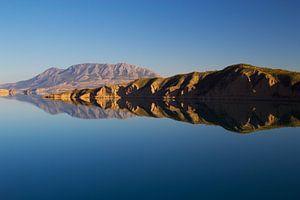 Mountain Reflection in Embalse de Negratin