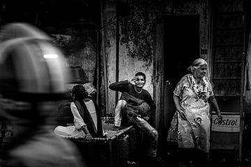 Straßen von Mumbai von Daan van der Heijden