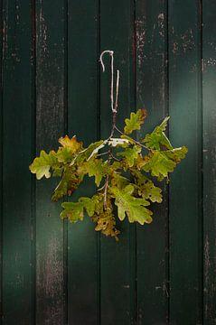Stilleven - Een bosje herfst van Hannie Kassenaar