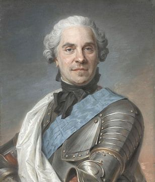 Der Marechal de Saxe, Maurice Quentin de La Tour.