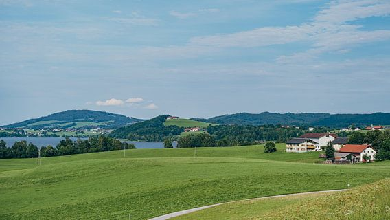 Seekirchen am Wallersee - vue de Henndorf