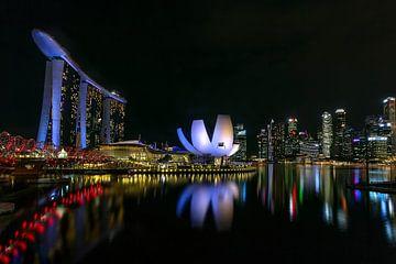 Singapur Marina Bay von Peter Tieleman