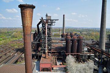 Ehemalige Lapadu-Hochöfen in Duisburg, Deutschland von Robin Verhoef