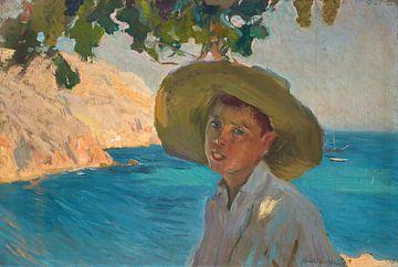 Junge mit Sombrero, Jávea, Joaquín Sorolla