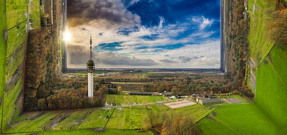 drone luchtfoto van Above The Grid