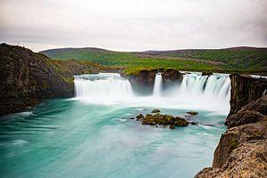 Godafoss Waterval IJsland van