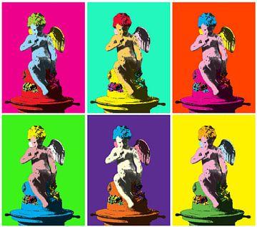 Pop Art Cupido van Sasha Butter-van Grootveld