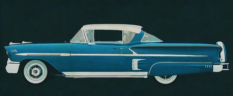 Chevrolet Impala Special Sport Coupe 1958 van Jan Keteleer