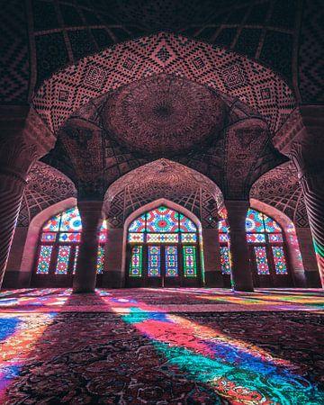 Nasir Al Mulk Mosque von Niels Tichelaar