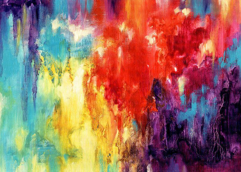 Rainbow Rain 3 van Maria Kitano