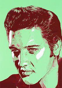 Elvis Presley malerei