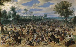 Ein Angriff auf eine Karawane, Sebastiaen Vrancx