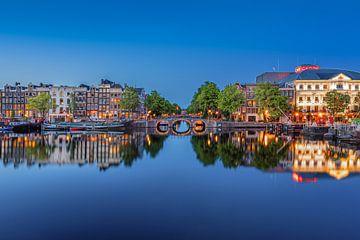 Rivier Amstel Amsterdam van Thea.Photo