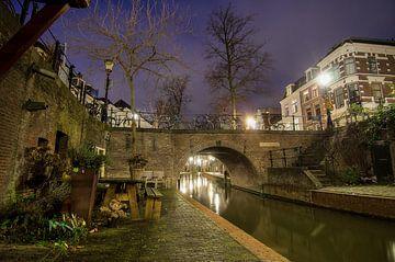 Abend in Utrecht von Mark Bolijn