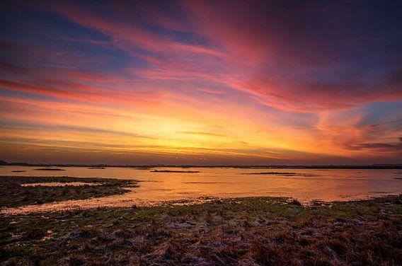 Een moment voor zonsopkomst
