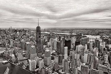 Blick auf Manhattan, New York City. von Anita Meis