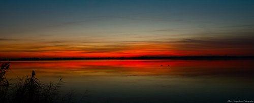 Sunset. van