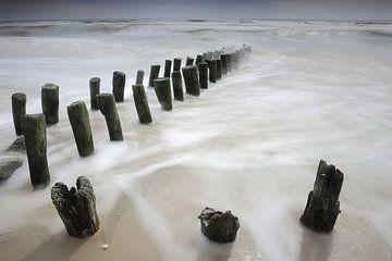 Golfbrekers in de Noordzee von Antwan Janssen