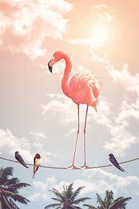 Flamingo & Vrienden van Jonas Loose