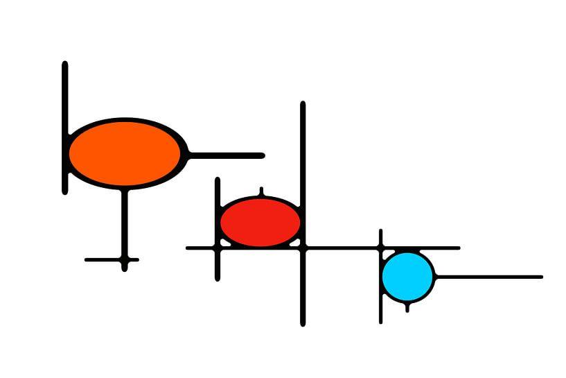 Organikaj Rondoj 1 van Henk-Jan van Tuyl
