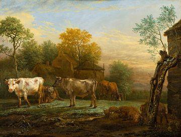 Bovins dans la prairie, Paulus Potter
