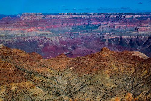 De veelkleurige Grand Canyon, VS