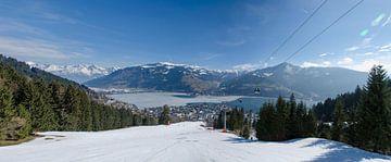 Panorama Zell am See - Oostenrijk van